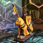 Mounted Duke on horse