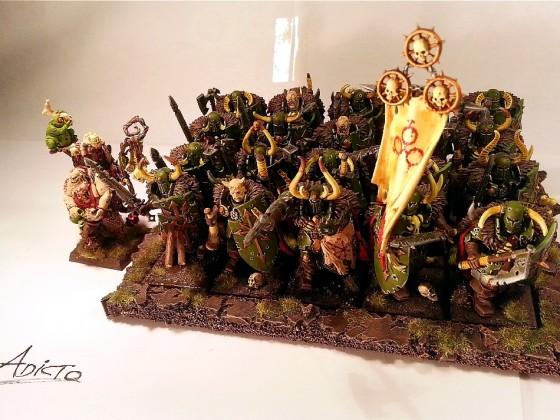 20 Wasteborn Warriors of Pestilence + Chosen Warlock of Pestilence