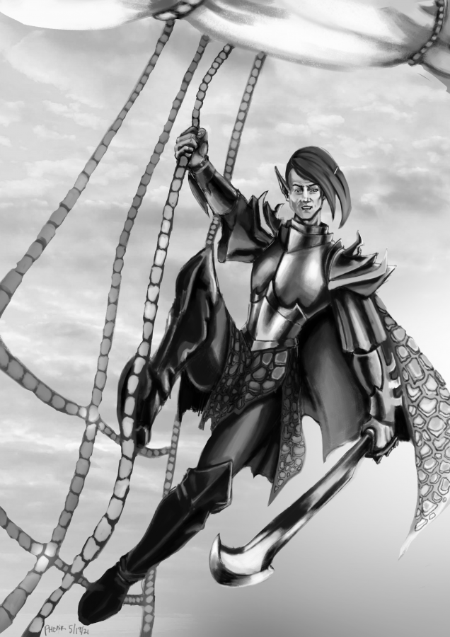 Dread Elf Corsair Prince