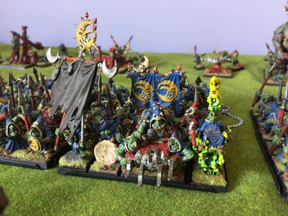 Goblin King, Bsb and Shaman 3