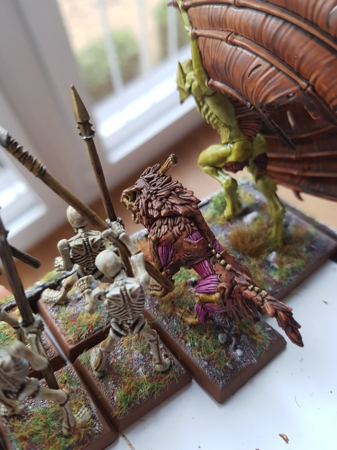 VC minis painted with contrast