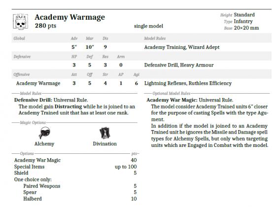 Academy Warmage