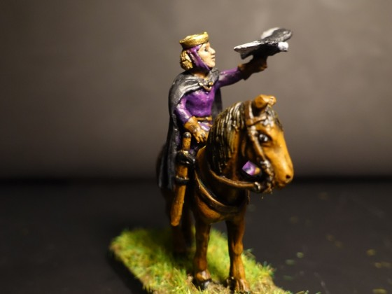 Mounted Damsel - Lady of the Woods