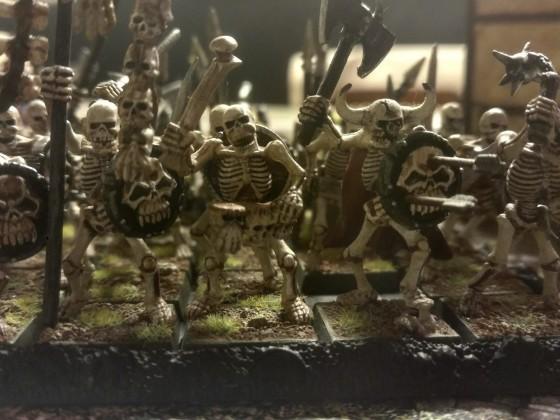 More skeletons...