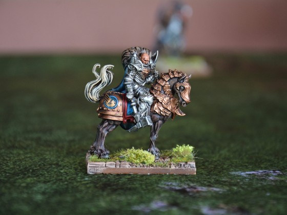 Knight Commander on Horse