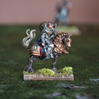 Knight Commander on Horse
