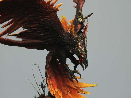 Fire Phoenix with Warden
