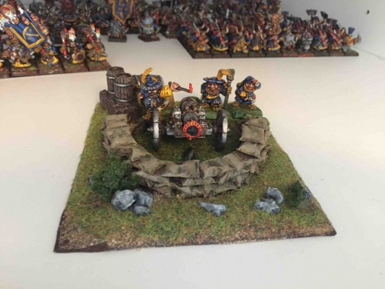 Entrenchment marker