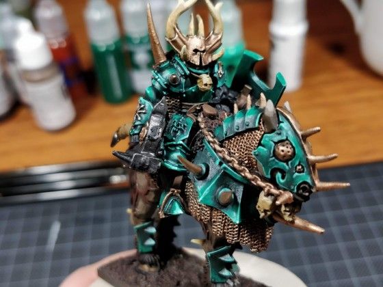 Chosen Lord on Black Steed WIP