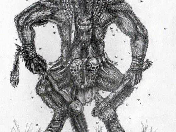 Taphrian Wildebeest Minotaur