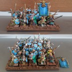 Dwarf spear Warriors - unit with filler