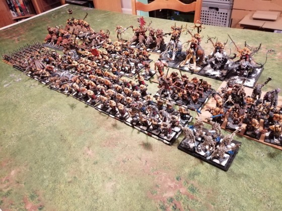 21500 Ogre Khans army assembled for battle
