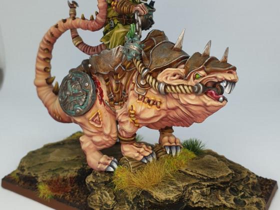 Tyrant on monstruous rat