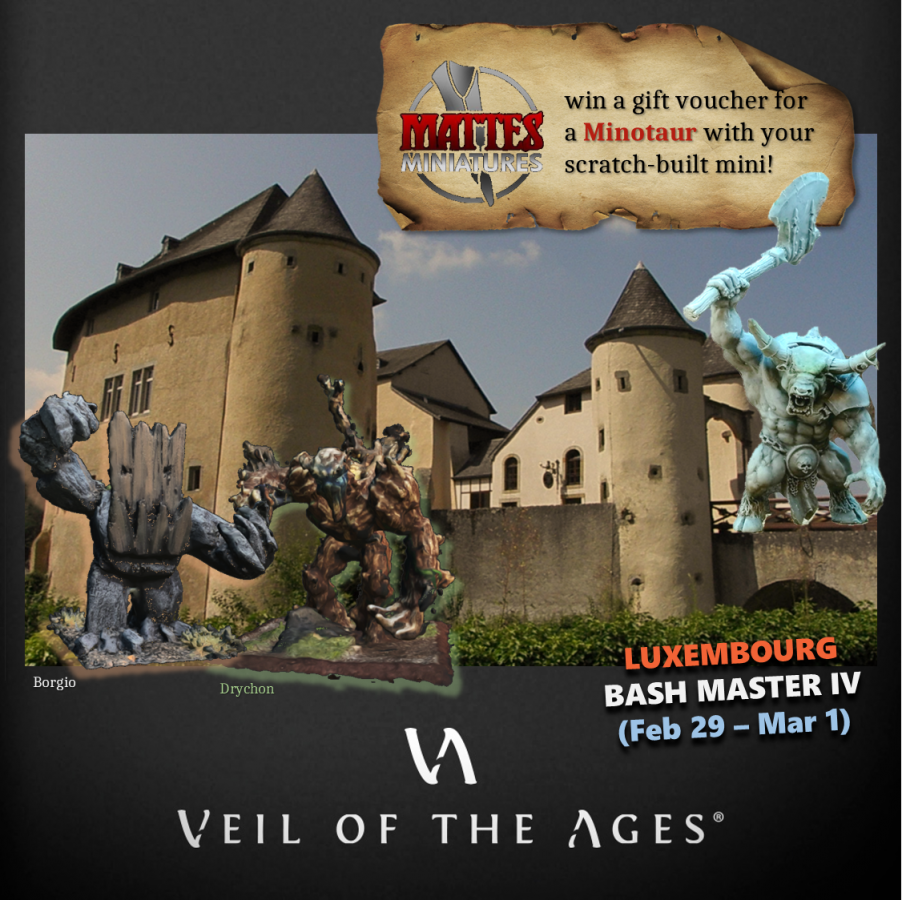 best painted contests at Luxembourg Bash Masters IV