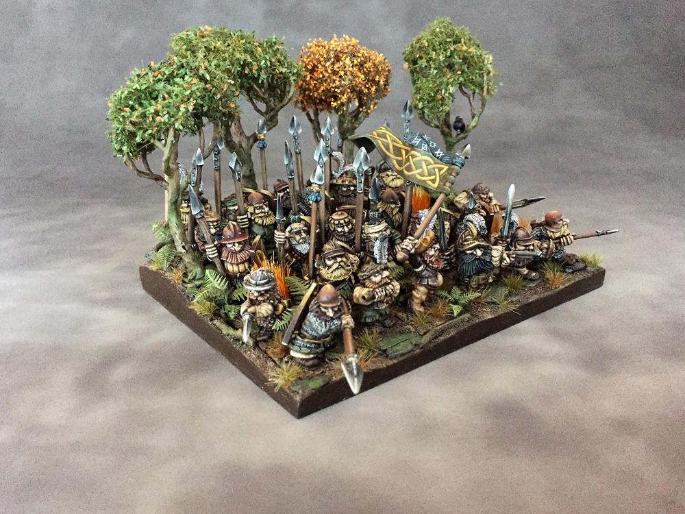 Spear Dwarf Warriors