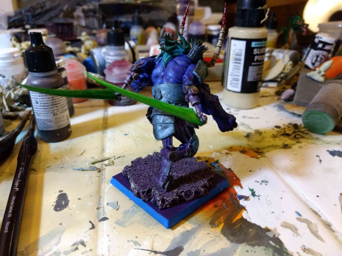 WiP Exalted herald back view