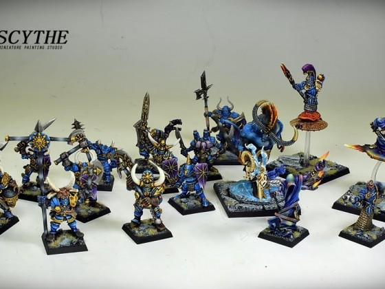 Classic Chaos Warriors and Champions