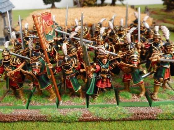 Imperial guard with sword and shield - Empire of Soonstahl