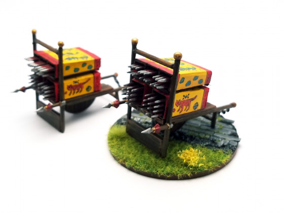 Fire Arrows Launchers