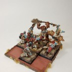 Tribesmen with Ironfists and Shaman
