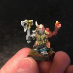 Infernal dwarf prophet