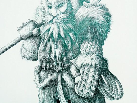 Inuit Dwarf by DracarysDrekkar7