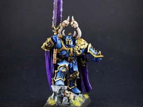 Chaos Lord with spear
