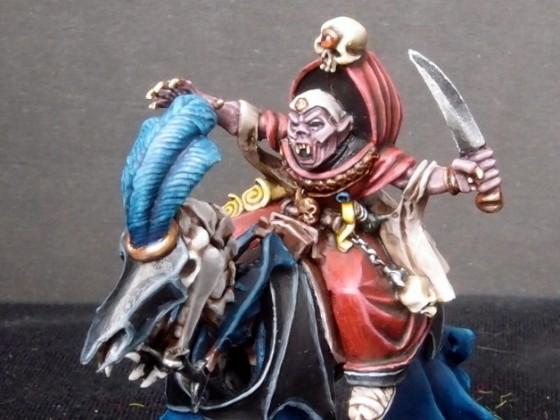 Nosferatu Vampire mounted on Skeletal Steed