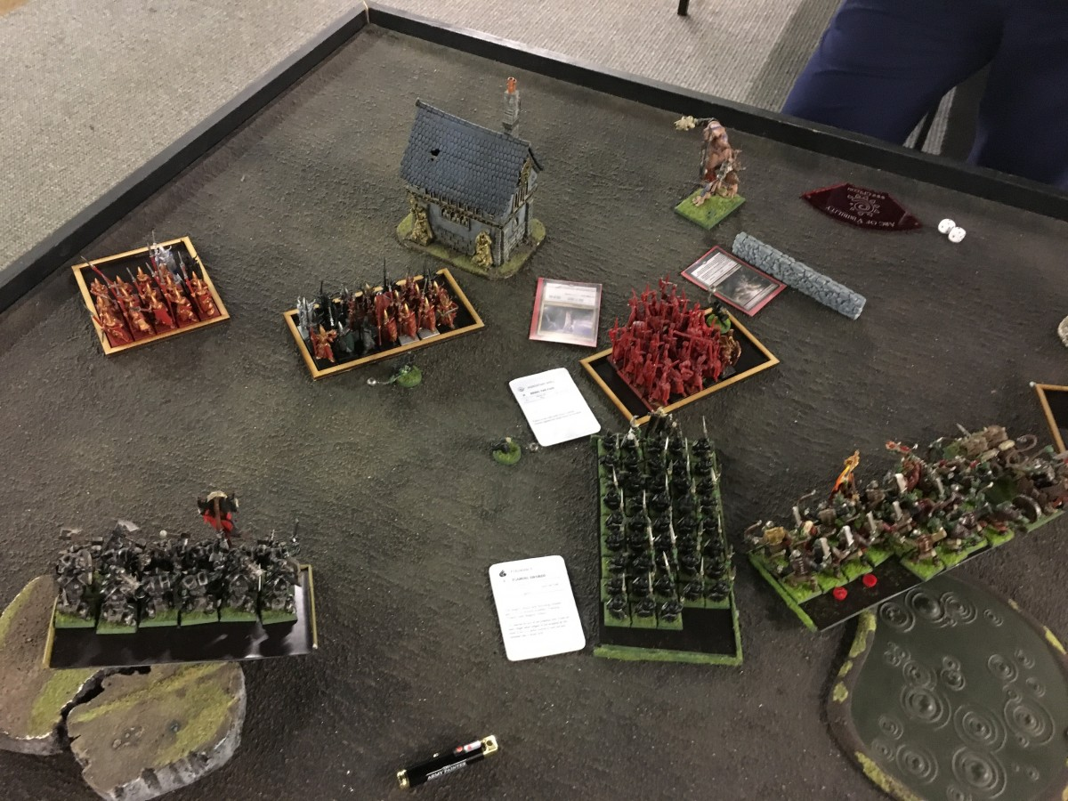 Vale Renegades League Pool 1 Round 1 - HBE vs OnG - End of OnG Turn 4