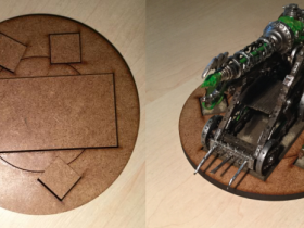 Vermin Warmachine Base (with example WLC)