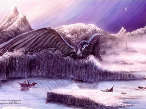 Ice Dragon by Nathan Johnson