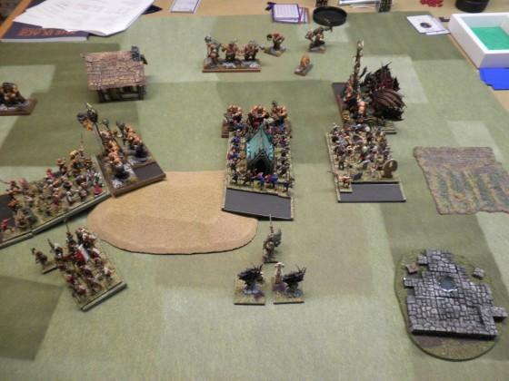 Small battle, 1500 pts.