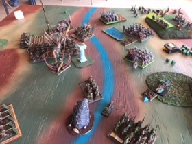 Vermin Swarms vs Dwarves