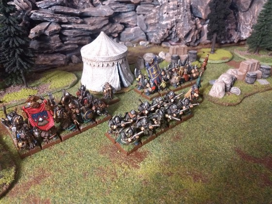 9th Age Quickstarter Dwarven Holds army