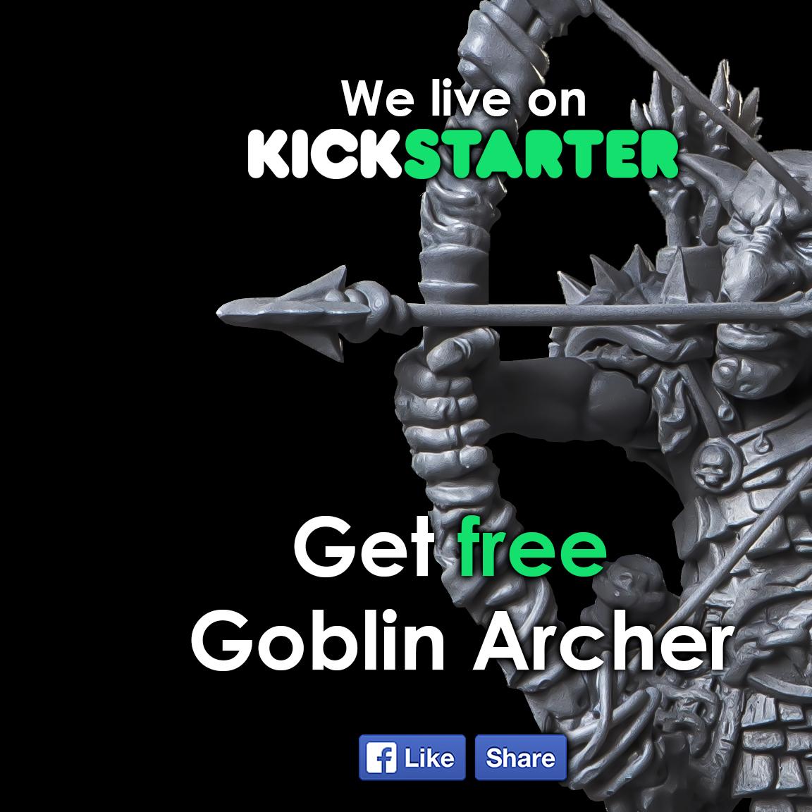 KICKSTARTER LIVE - Orc and Goblin