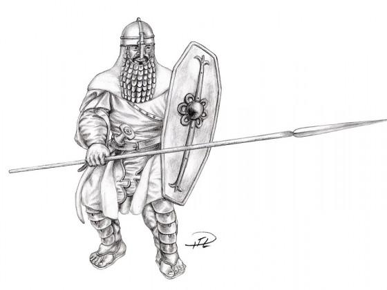 Kegiz Gavem Spearman by Paulus Indomitus
