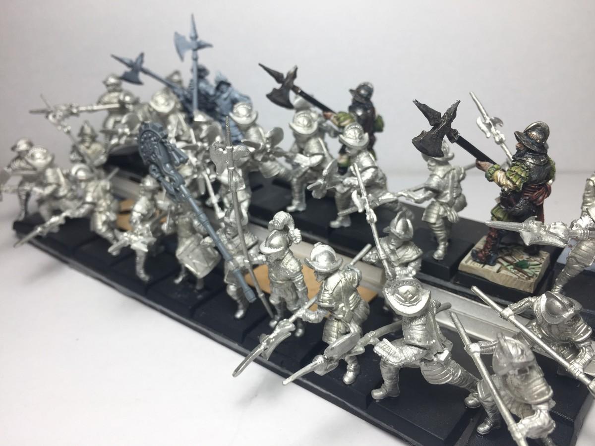 Conquistador Hallbardiers WIP