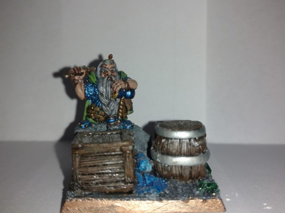 Ol' Rusty and the Ammo (Dwarven Marksmen Unit Filler)