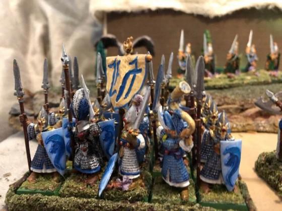 Units of the Highborn Elves