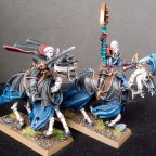 Von Karnstein Vampires mounted on Skeletal Steeds