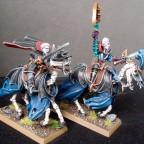 Von Karnstein Vampires mounted on Skeletal Steeds