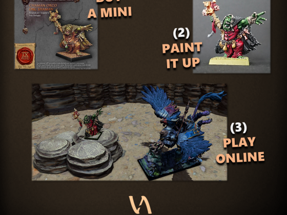your minis in our game