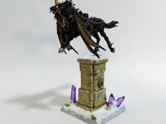 [Mount] Blackmane Pegasus - Monture Pégase au crin noir.