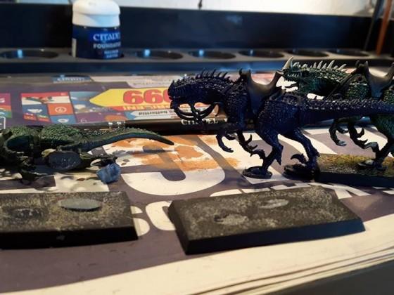 Raptor - start repainting