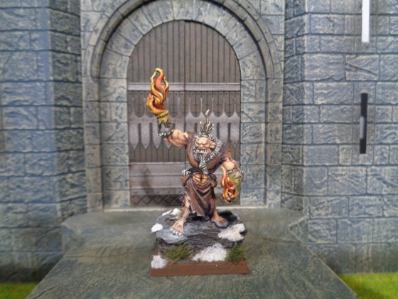 Kings of War Shaman Ogre