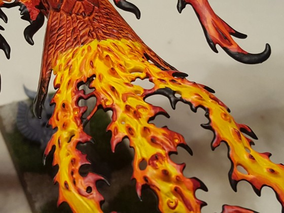 Fire Phoenix tail