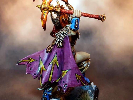 Female Barbarian Chief