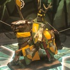 Green and Gold Knight of the Realm