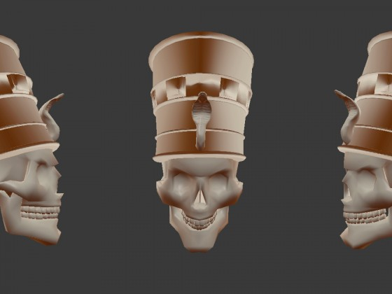 Necropolis Guard Head concept