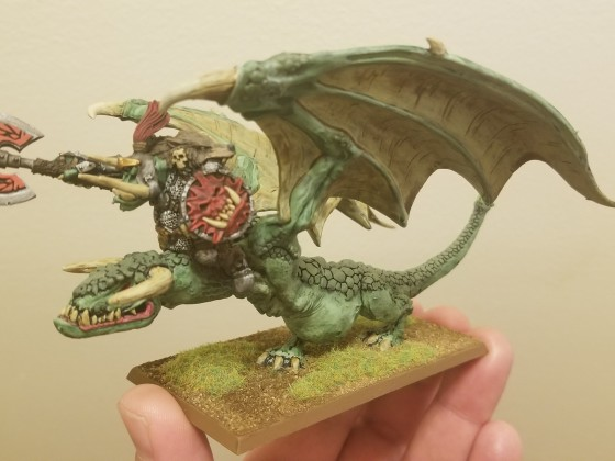 Orc Chief on Wyvern